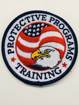 FEDERAL PROTECTIVE PROGRAM TRAINING PATCH VERY RARE LAST ONE