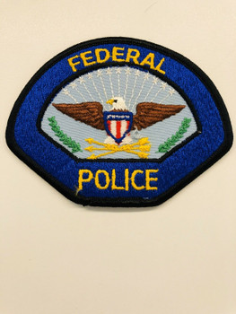 FEDERAL POLICE EAGLE PATCH