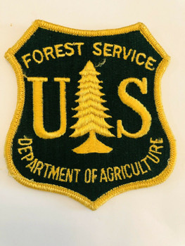 FOREST SERVICE DEPARTMENT OF ARGICULTURE PATCH