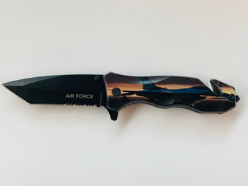 US AIR FORCE  Assisted Knife •