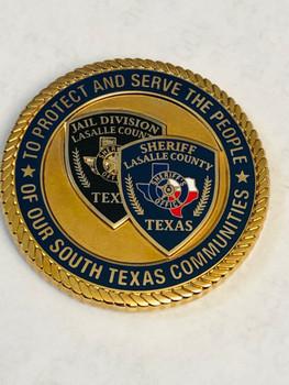LA SALE COUNTY SHERIFF COINGREAT TEXAS COIN, BIG PRIDE!