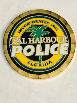 BAL HARBOR POLICE FLORIDA COIN
