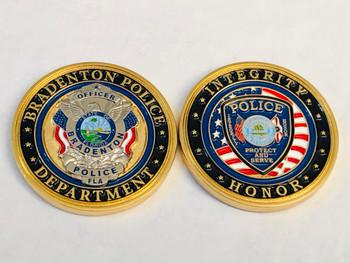 BRADENTON POLICE FLORIDA COIN