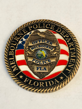 MELBOURNE POLICE COIN