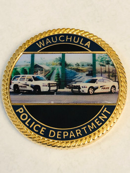 WAUCHULA POLICE FLORIDA COIN