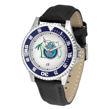 FL FBINAA Competitor Leather Watch