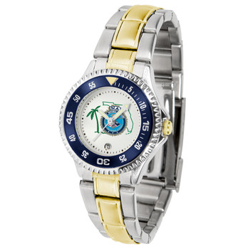 FL FBINAA Competitor Two-Tone Watch
