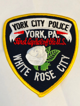 YORK CITY POLICE PATCH