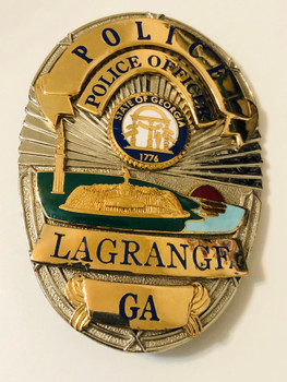 LAGRANGE POLICE GEORGIA  BADGE