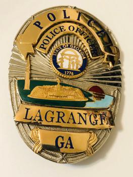 LAGRANGE POLICE GEORGIA  BADGE