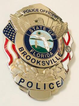 BROOKSVILLE POLICE FLORIDA BADGE