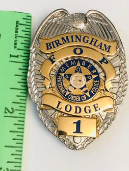 BIRMINGHAM POLICE FOP  BADGE