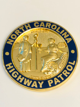 NORTH CAROLINA HIGHWAY PATROL IACP COIN