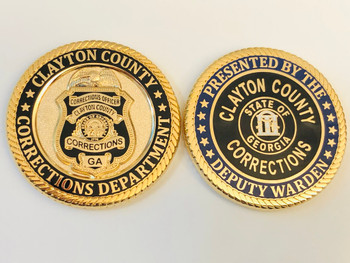 CLAYTON COUNTY GEORGIA CORRECTIONS COIN