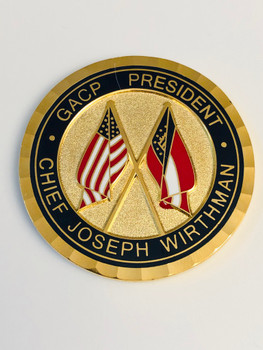 JEFFERSON POLICE GEORGIA COIN