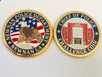 NEWNAN POLICE GEORGIA COIN