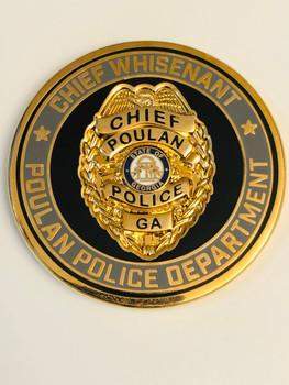 POULAN POLICE GEORGIA COIN