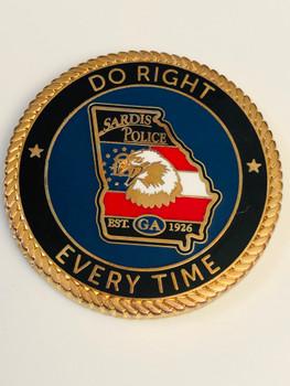 SARDIS POLICE GEORGIA COIN