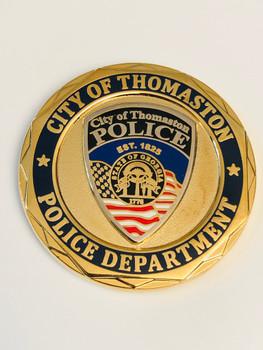 THOMASTON POLICE GEORGIA COIN