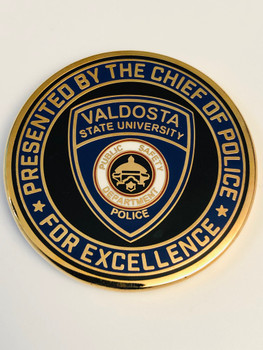 VALDOSTA STATE COLLEGE POLICE GEORGIA COIN