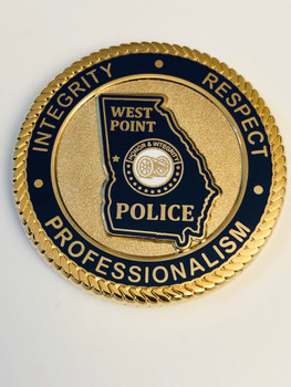 WEST POINT POLICE GEORGIA COIN