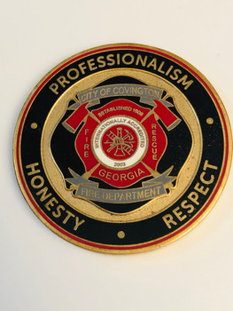 COVINGTON FIRE GEORGIA COIN