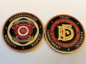 COVINGTON FIRE GEORGIA COIN