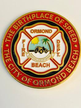 ORMOND BEACH FIRE FLORIDA COIN