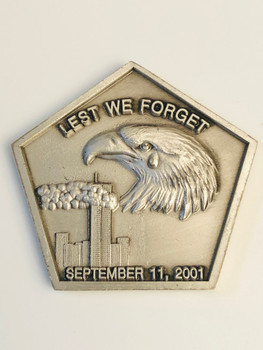 LEST WE FORGET 9-1-1 COIN