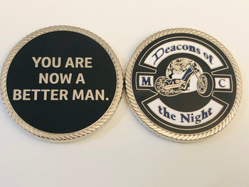 YOU ARE A BETTER MAN COIN