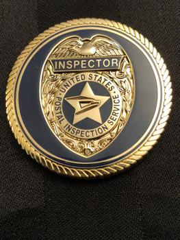 US POSTAL INSPECTION NY DIV. BLUE COIN