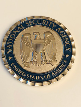 NSA NATIONAL SECURITY AGENCY COIN
