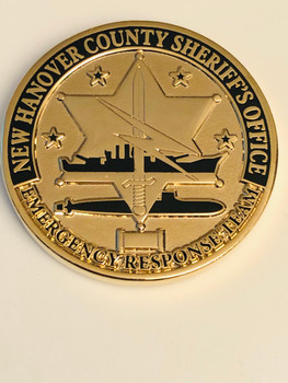 NEW HANOVER SHERIFFS COIN