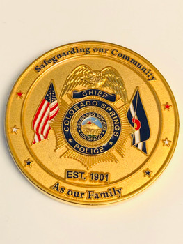 COLORADO SPRINGS POLICE COIN