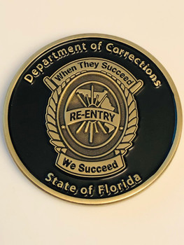 FL CORRECTIONS RE-ENTRY COIN