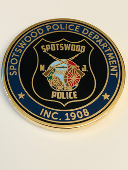 SPOTSWOOD POLICE COIN