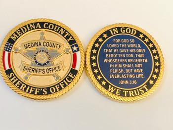 MEDINA CTY SHERIFF TEXAS COIN