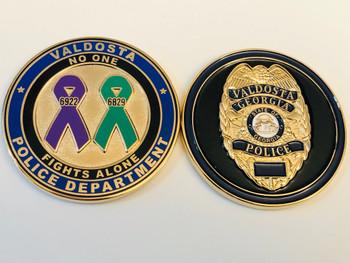 VALDOSTA POLICE GEORGIA COIN