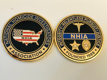 NATIONAL HOMICIDE ASSOCIATION COIN