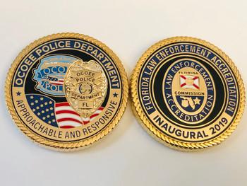 OCOEE POLICE FL COIN