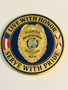 DAYTONA COLLEGE FL  LIVE WITH HONOR COIN