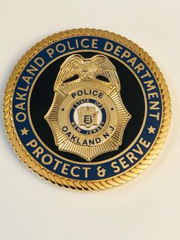 OAKLAND POLICE NJ COIN