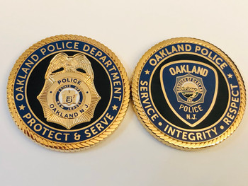 OAKLAND POLICE NJ COIN