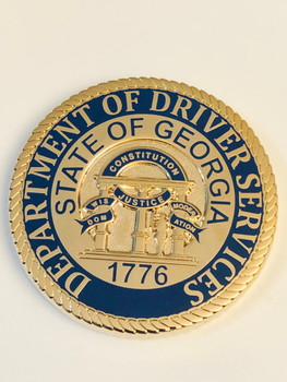 GEORGIA DEPT. OF DRIVERS SERVICES COIN