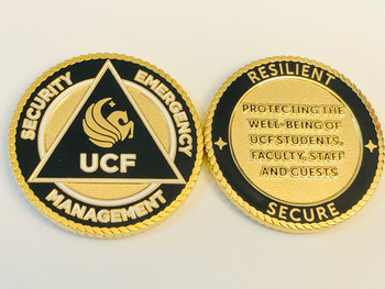 UCF SECURITY EMERGENCY MANAGEMENT COIN
