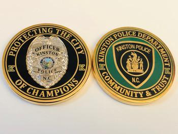 KINSTON POLICE NC COIN