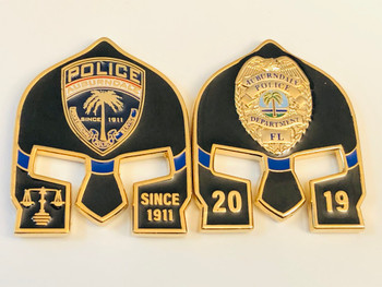 AUBURNDALE  POLICE FL WARRIOR COIN