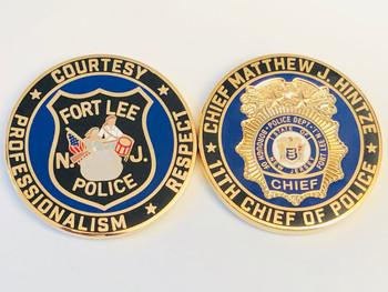 FT. LEE POLICE NJ COIN