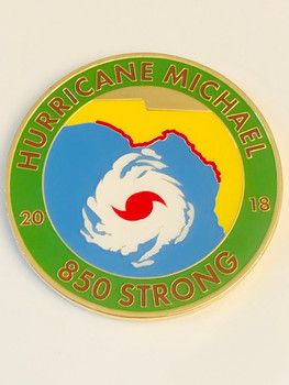 HURRICANE MICHAEL COIN