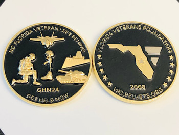 FLORIDA VETERANS FOUNDATION COIN